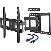 Mounting Dream MD2378 TV Wall Mount Bracket with Full Motion Articulating Arm for most 26-55 Inch LED, LCD Flat Screen TV up to VESA 400x400mm and 66 LBS