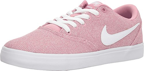 - Nike Womens WMNS SB Check Solarsoft Elemental Pink White Black Size 8.5