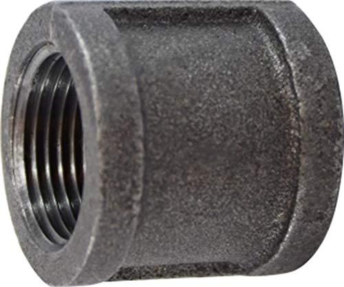 Iron Size 1//2 1//2 Midland Metal Midland 65-413 Black Iron #150 Malleable Coupling