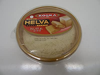Koska Plain Halva - 14.11 oz(400gr) Sade Tahin Helvasi,Turkish