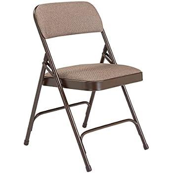 Amazon Com Cosco Xl Comfort Folding Chair Black Fabric 4