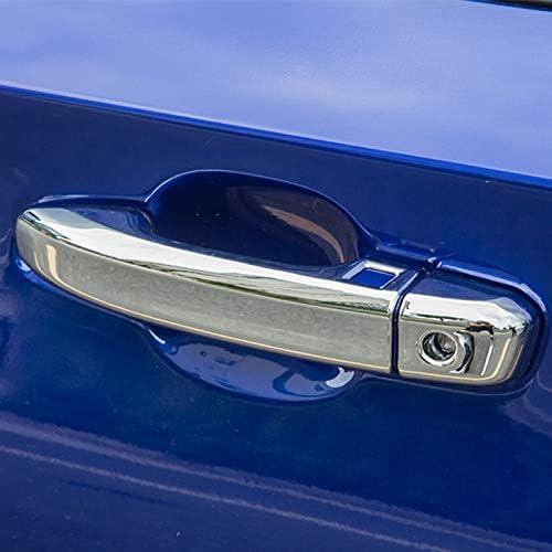 For 2018 2019 2020 2021 Honda Accord GLOSS BLACK Door Handle COVERS Overlay NOSK