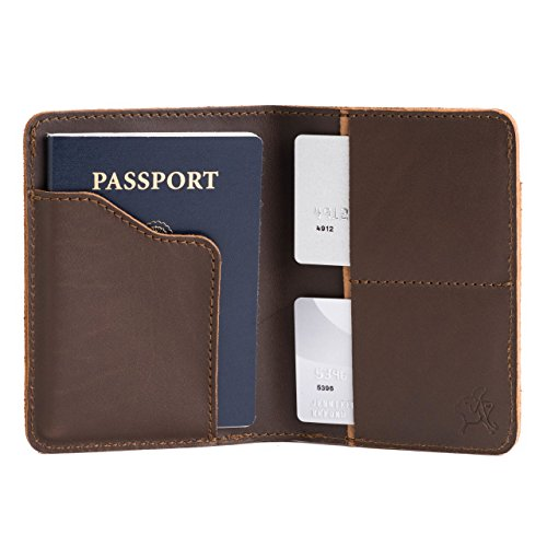 Saddleback Leather Co. RFID US Passport Holder Family Passport Wallet Includes 100 Year Warranty