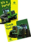 : John Deere Invitation and Thank You Note Set
