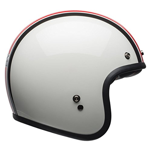 Ace Gloss - Bell Custom 500 SE ACE Cafe Stadium Gloss Silver / Red / Black - Small