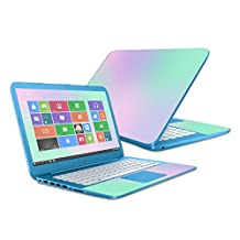 """MightySkins Protective Vinyl Skin Decal for HP Stream 14"""" (2016) wrap cover sticker skins Cotton Candy"""