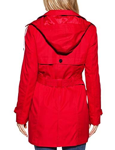 11565 flame Abrigo Para Street Rot One Mujer Red UnWav