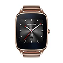 ASUS ZenWatch 2 WI501Q-GM-GD-Q 1.63-inch AMOLED Smart Watch w/ Quick Charge - GOLD METAL