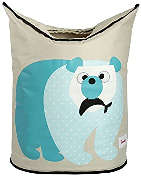 3 Sprouts Laundry Hamper, Polar Bear ULHPOL