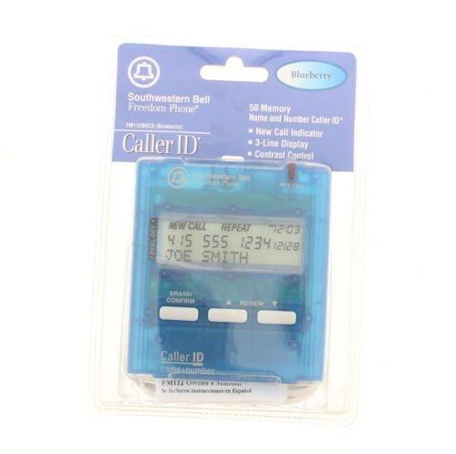 Southwestern Bell Freedom Phone Clear Blue Blueberry Caller ID FM112BRCS