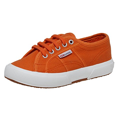 Superga 2750 Jcot Classic, Zapatillas Infantil Naranja (Hot Orange)