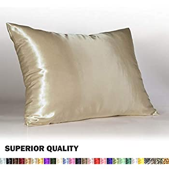Amazon Com Luxury Satin Pillowcase W Hidden Zipper King