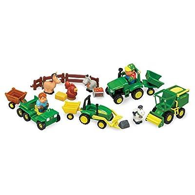 TOMY John Deere 1st Farming Fun, Fun on The Farm Playset: Toys & Games