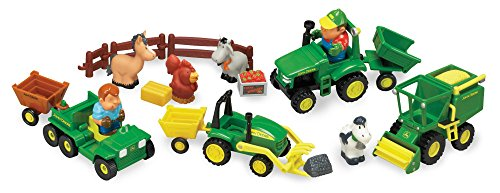TOMY John Deere 1st Farming Fun, Fun on the Farm (Farming Equipment)