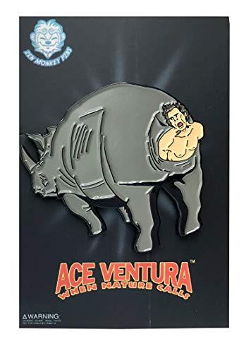 Ace Ventura: When Nature Calls - Stuck In A Rhino Collectible Pin -