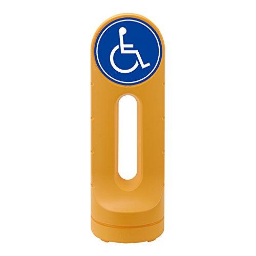 スタンドサイン(給水型) O型タイプ 「 身障者専用 」 イエロー RSS125-9 B010OY0TN4