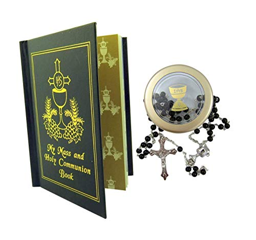 - My Mass and Holy Communion Missal and Rosary with Case First Communion Gift Set for Boys