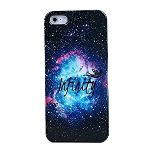 QJM Infinity Star Pattern PC Material Hard Case for iPhone 4/4S