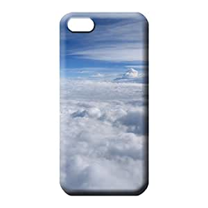 iphone 5c case Covers phone Hard Cases With Fashion Design phone cases covers sky blue air white cloud