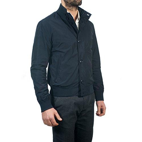 Impermeabile Giubbino Estivo Woolrich Blu Jacket Navy Wocps2556 Club 324 q0w0SY