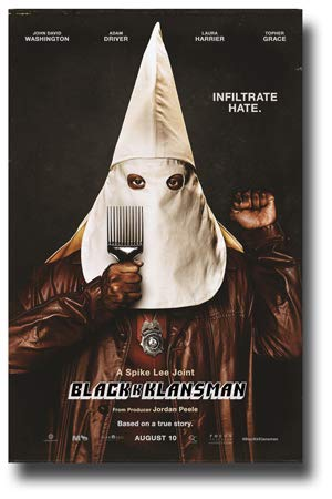 (BlackKklansman Poster Movie Promo 11 x 17 inches Black K Klansman Spike Lee )
