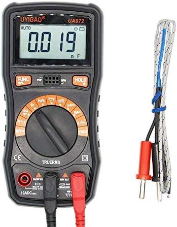 YIONGA CAIJINJIN Multimeter Precise UA972 Mini LCD Digital Multimeter DC/AC Voltage Current Resistance Capacitance Frequency Temperature Measurement