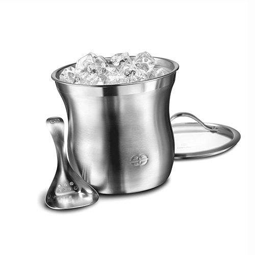 Barware Calphalon - Calphalon 1757965 Barware 3-Piece Ice Bucket Set