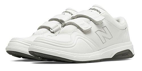 落とし穴時制不運(ニューバランス) New Balance 靴?シューズ レディースウォーキング Hook and Loop 813 White ホワイト US 6.5 (23.5cm)