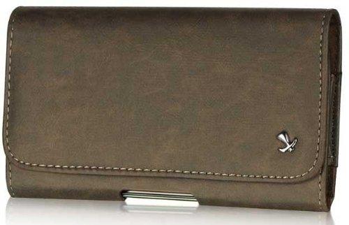 Amazon.com: Motorola Droid RAZR MAXX HD Genuine Bold Leather Case ...