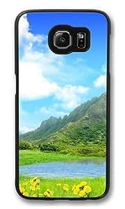country summer Custom Samsung Galaxy S6/Samsung S6 Case Cover Polycarbonate Black Kimberly Kurzendoerfer