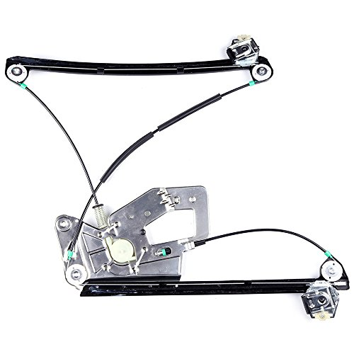 (cciyu Front Right Passengers Side Power Window Lift Regulator Replacement fit for 2001-2003 BMW 525i 530i 540i M5 1999-2000 BMW 528i 528it 540i 540it 2000 BMW M5 1997-1998 BMW 528i(NO Motor Assembly))