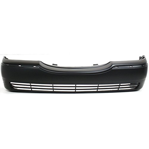 Town Car Front Bumper Cover - MBI AUTO - Primered, Front Bumper Cover Fascia for 2003-2011 Lincoln Town Car 03-11, FO1000528