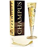 Ritzenhoff Flûte à Champagne serviette incluse, 200 ml, Design 2012, Ingrid Robers, 1070184