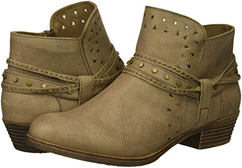 Botas Distress Taupe de Fabric para Sugar Tobillo Thinker Mujer 605wwF