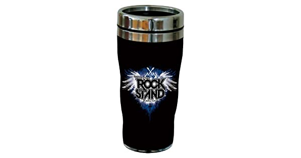 16-Ounce Matthew 7:24-25 Sip N Go Stainless Steel Lined Travel Tumbler Tree-Free Greetings sg24329 Rock Stand