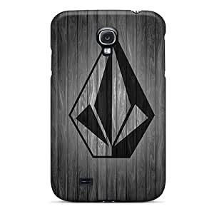 Premium [Hjq2206vitC]volcom Wood Case For Galaxy S4- Eco-friendly Packaging