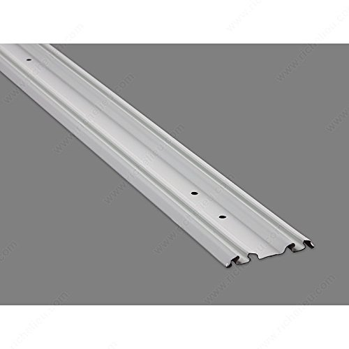 145BT060WIP Finish White, Maximum Length 60 in Bottom Track Material Metal Our Brands Onward