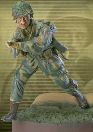 - WWII Paratrooper Corporal Smith - Dusty Trail Toys