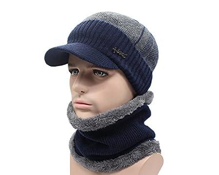 11bc8652caa ... Blue Stones - Winter Hats Skull - Hat Winter For Men Women - Wool Scarf  Caps ...