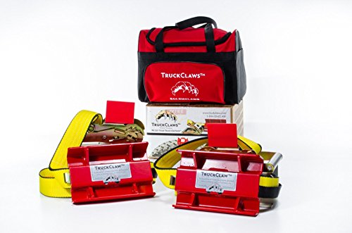 (TruckClaws Commercial Semi Truck Tire Snow & Ice Traction Aid Kit)