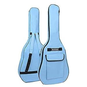 OriGlam 104,1 cm Akustikgitarrentasche, Gitarrentasche mit doppeltem verstellbarem Schultergurt für Akustikgitarre…