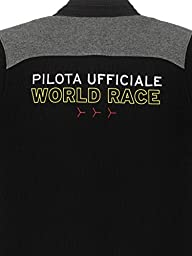 Automobili Lamborghini Mens Pilota World Race Polo Shirt Xxl Black