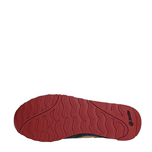 Chaussures Homme Lotto Art S7846 Avec Couleur Supérieure En Tissu Taille Photo De Votre Choix (41, Noir)