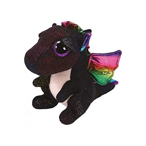 TY Beanie Boo Black Dragon Anora 6  Plush Soft Stuffed Animal Toy