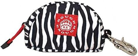 Rough Enough Coin Bag Key Purse Change Organized Safe (Zebra)