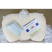 Twin Z Pillow GIFT BOX! 1 pillow, 2 covers, 1 twin scheduler and a twin baby greeting card (1 Pink & 1 Pink Cover)