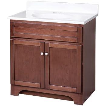 Foremost cocat3018 columbia 30 inch bath vanity combo - Foremost bathroom vanity reviews ...