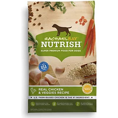 Rachael Ray Nutrish Real Chicken & Veggies Recipe Dog Food (Pack of 2)