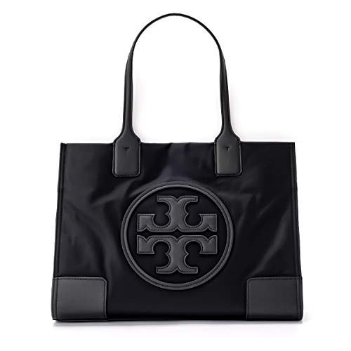 Tory Burch Women's Mini Ella Nylon Top-handle Bag Tote - Black