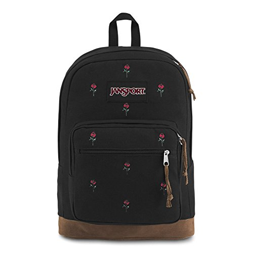 - JanSport Right Pack Expressions Laptop Backpack - Embroidered Roses